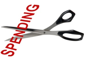 Spending cuts, isolated