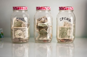 money-jars
